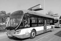 三款新式纯电动公交车四川成都开跑