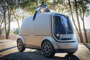 硅谷机器人公司Nuro发布Level 4无人配送车,解决线上购物最后几公里