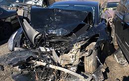 """世界上首例 Model 3 撞毁事故出现,马斯克说以后车要多加一张""""贴膜"""""""