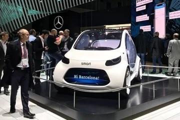 盘点MWC汽车科技:华为宝马争秀无人车,奔驰搭台讲区块链