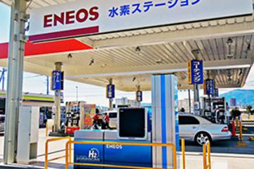 申通快递南翔分公司正式开始使用氢燃料电池货车