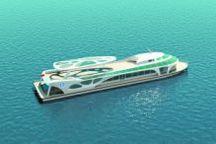 武汉大型纯电动观光客船年底建成下水
