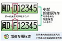三种渠道预选 厦门将启用新能源车号牌