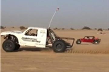 HSR Motors用特斯拉电机打造当前功率最大的沙漠用越野车