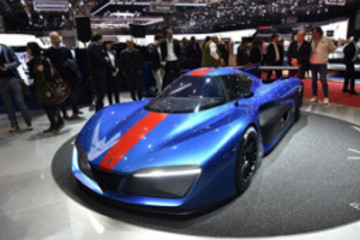 宾尼法利纳与Rimac共同研发Formula E技术超级跑车