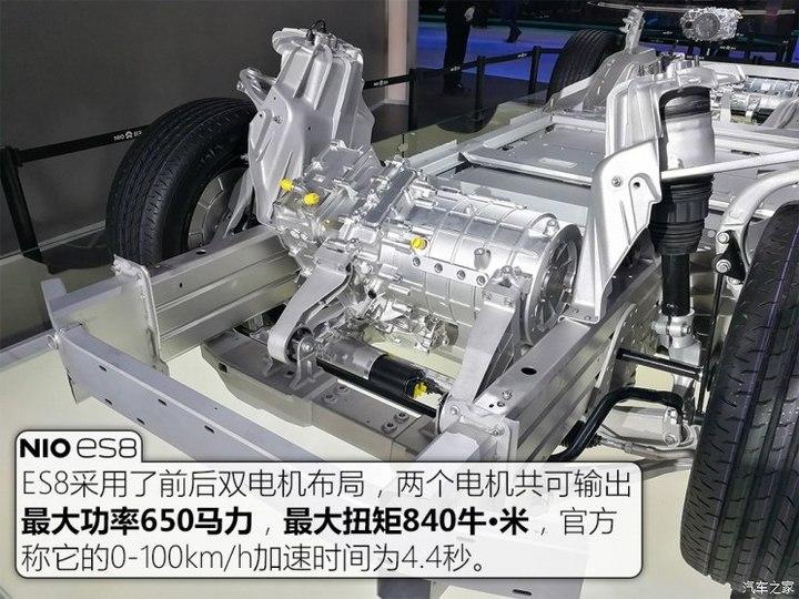 蔚来ES8 6座版,北京车展