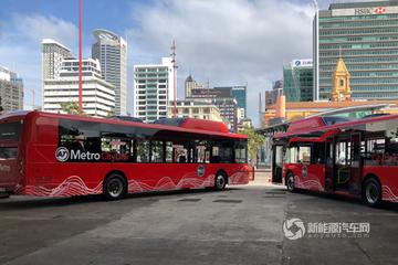 比亚迪电动巴士开进新西兰