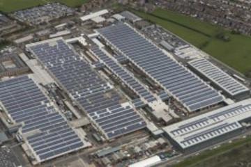 宾利建英国最大规模太阳能发电停车场