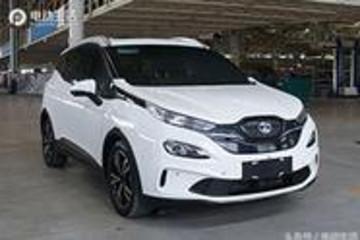 北汽新能源EX3全新SUV 形似阿凡达神兽