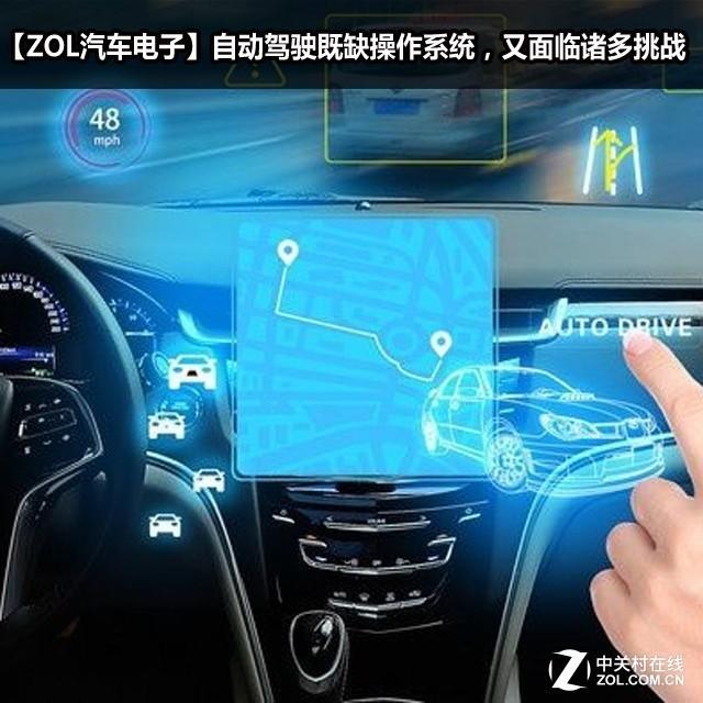 自动驾驶既缺操作系统,又面临诸多挑战