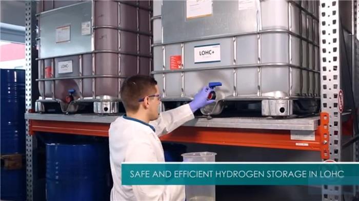 科莱恩与Hydrogenious合作LOHC氢化和脱氢技术