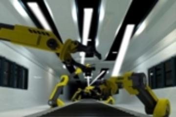 OWICELLS项目利用可见光通信测试宝马机器人工装