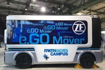 搭载采埃孚自动驾驶系统,e.Go巴士将于2019年实现量产