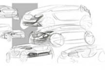 红旗首款纯电动SUV E-HS3设计草图曝光:设计动感,主打时尚