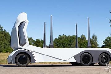 外形奇特!瑞典创企推无人运木车T-Log