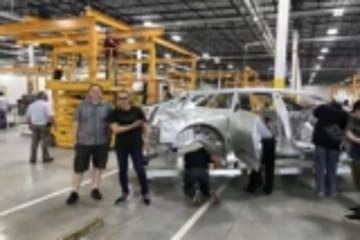 FF提前完成白车身打造 称是量产里程碑事件