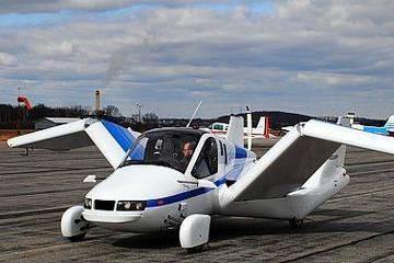 Terrafugia 两座飞行汽车曝光,最快将在明年投产