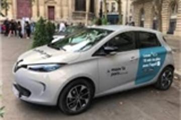 雷诺与ADA结盟 在巴黎提供电动车汽车共享服务