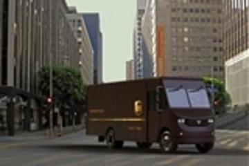UPS与Thor研发短途版纯电动6级送货卡车