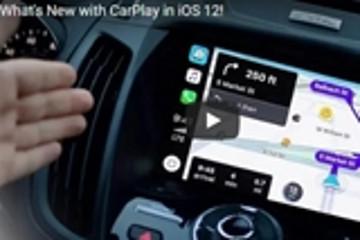 苹果Carplay将升级数据及地图应用 iOS 12将于今秋上市