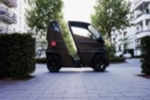 续航120公里,德国企业发售可伸缩微型电动车iEV X