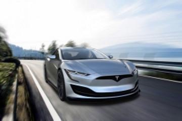 下一代特斯拉Model S效果图曝光 外观改进功能升级