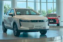 成都车展上市 静态体验欧拉iQ纯电动车