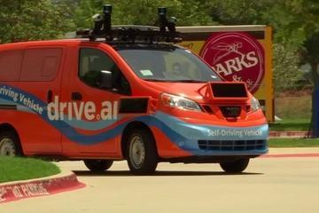 Drive.ai为居民和游客提供街头自动驾驶车辆服务