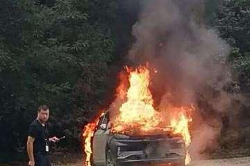 还原搭载谷神电池的威马报废试装车自燃经历