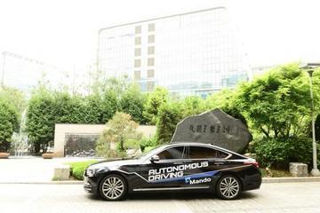 韩国万都获准在加州测试自动驾驶车辆