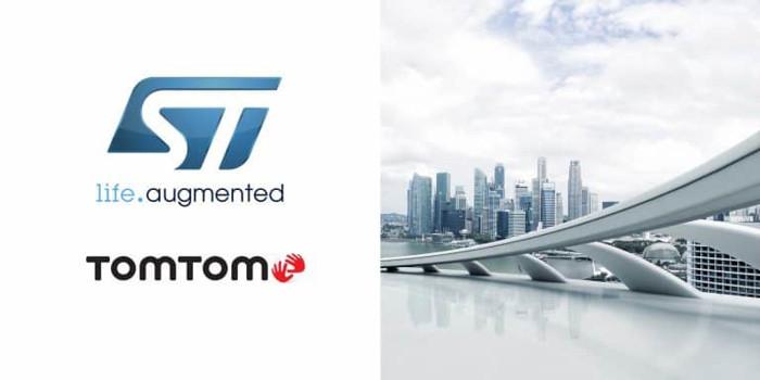 意法半导体合作TomTom 提供创新定位工具和服务
