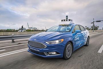 福特首款自动驾驶车拟为SUV车型 或在2021年发布