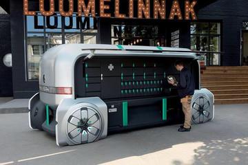 雷诺EZ-Pro概念车展望城市无人驾驶车运送服务