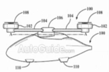 """丰田最新飞行汽车专利:轮毂当""""直升机""""螺旋桨"""