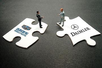 戴姆勒或与吉利在华成立网约车合资公司,运营车辆采购腾势汽车