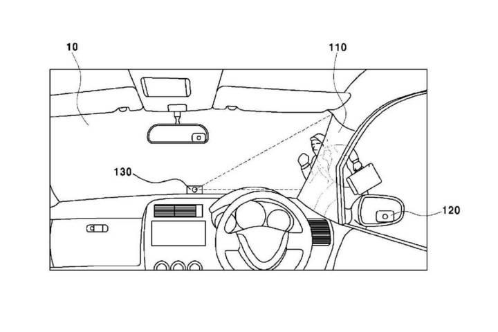 解决 A 柱盲区问题 现代新专利让行车更安全