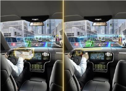 大陆集团推出行业内首款搭载汽车抬头显示器的全色演示器
