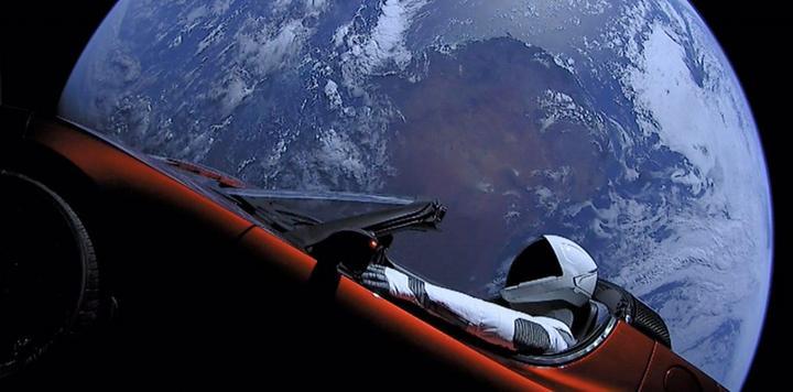 """特斯拉更新""""推荐奖励""""计划 可向太空投放时光胶囊"""