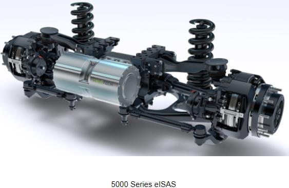 AxleTech与Thor Trucks合作研发重卡用电动动力传动系统