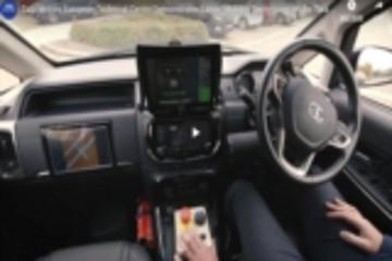 塔塔汽车欧洲技术中心在Hexa上进行自动驾驶技术演示