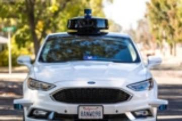 网约车服务公司Lyft展示新款自动驾驶汽车