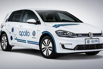 大众加入百度 Apollo 平台  e-Golf 将被用于开发自动泊车