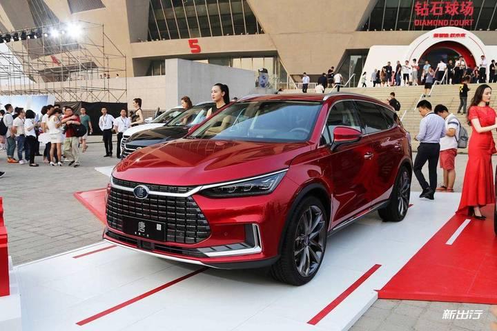 唐 EV  将于广州车展正式发布 北京区域现可接受预订
