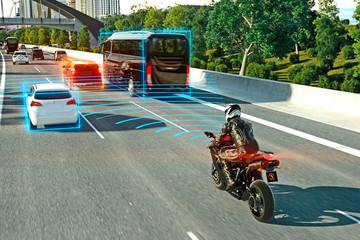 大陆推新型雷达传感器 提升驾驶辅助功能防止后部碰撞事故