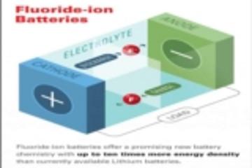能量密度比锂离子电池高10倍?本田研究所等合作研发氟离子电池