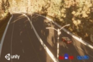 百度合作Unity 利用虚拟仿真场景测试自动驾驶汽车