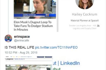 """马斯克为隧道项目""""找托""""?支持民众中有SpaceX员工"""