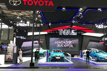 丰田携新能源与热销车型亮相2018上海浦东车展