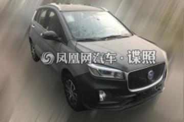 汉腾小型电动SUV实车曝光 2019年春天上市