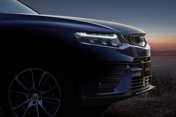 吉利全新轿跑SUV FY11 预告图发布 将搭载混动系统